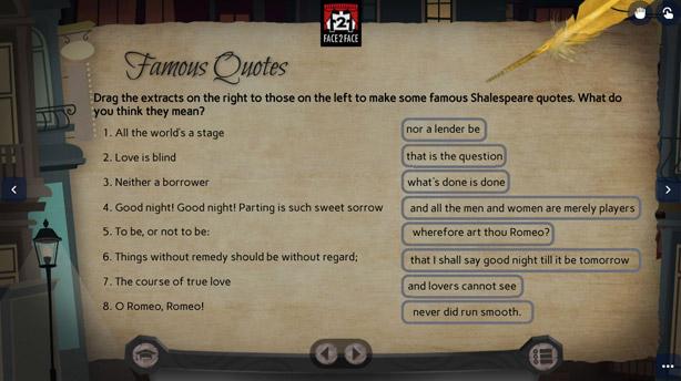 Teatro online interactivo - Shakespeare in Chicago