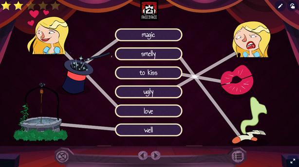 Teatro online interactivo - The Frog Prince
