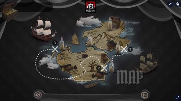 Teatro online interactivo - Treasure Island